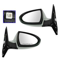 10-12 Kia Sportage Power Heated w/Turn Signal w/PTM Cover Mirror PAIR