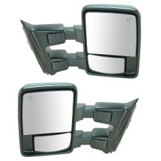 11-12 Ford SD PU Pwr Htd TS CL w/Memory Textured Caps (w/RH Temp Sens) (Upgrade Style) Mirror PAIR