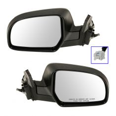 11-12 Subaru Legacy, Outback Power (w/Textured Black & PTM Covers) Mirror PAIR