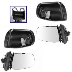 00-02 MB E320; 03 E320 SW; 00-02 E430, E55AMG Power Heated w/Memory & Turn (11 Pin) Mirror PAIR