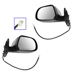 11-13 Nissan Leaf Power PTM Mirror PAIR