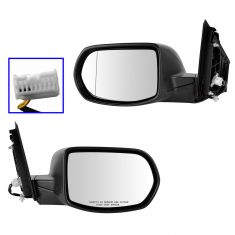 12-13 Honda CR-V Power PTM Mirror PAIR