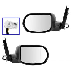 12-13 Honda CR-V Power Heated PTM Mirror PAIR