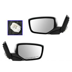 08-12 Honda Accord Coupe Power Heated PTM Mirror PAIR