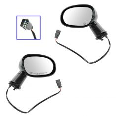 08-13 Dodge Challenger Folding Power Heated Mirror PAIR