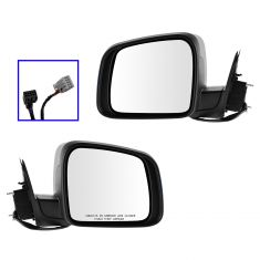 11-13 Jeep Grand Cherokee Power, Heated, Turn Signal, Memory (w/o Blind Spot Detect) PTM Mirror PAIR