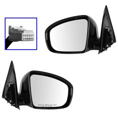 13-14 Nissan Pathfinder S, SV Power PTM Mirror PAIR