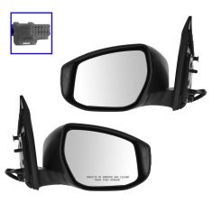 13 Nissan Sentra Power Heated w/Signal PTM Mirror PAIR