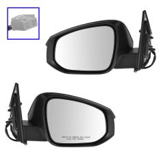 13-14 Toyota Rav4 Power, Heated, w/Turn Signal PTM Mirror PAIR