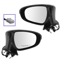 14- Lexus IS250, IS350 Power Heated Mirror PTM w/ Puddle Light Pair
