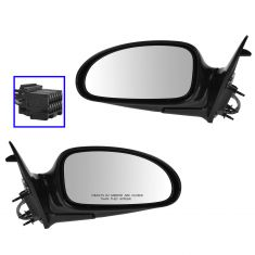 00-05 Buick Lesabre Power Heated Memory Mirror Pair