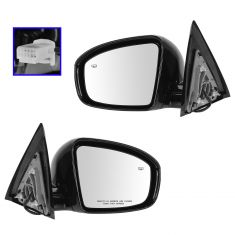 14- Nissan Pathfinder SL Power Heated Mirror PTM Pair