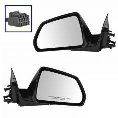 08-13 CTS 4dr; 10-14 CTS Wagon Power Heated Memory PTM Mirror PAIR