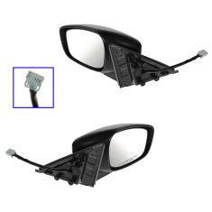 08-13 G37 Coupe; 09 G37 Convertible Power Heated PTM Mirror PAIR