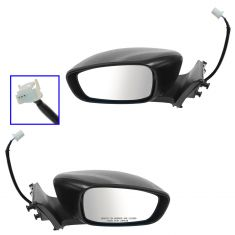 08-13 G37 Coupe; 14 Q60 Coupe Power PTM Mirror PAIR
