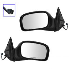 06-08 Chrysler Pacifica Power Heated Memory PTM Mirror PAIR