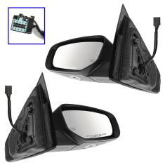 13-14 Dodge Dart Power Heat Puddle Signal PTM Mirror PAIR