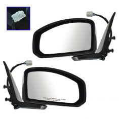 03-07 Infiniti G35 Coupe Power Heated PTM Mirror PAIR
