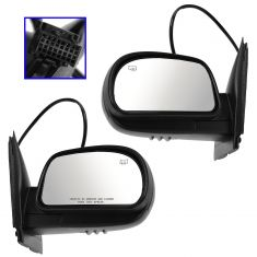 06-09 Trailblazer SS; 06-08 Ascender Sport Power Heated PTM Mirror PAIR