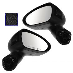 12-14 Kia Rio Power Heated PTM Mirror PAIR