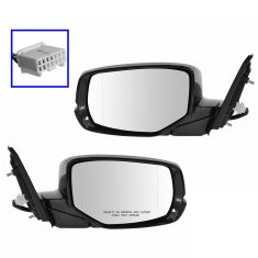 13-14 Honda Accord 2dr Power Heated Signal Mirror PAIR