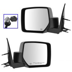 08-12 Jeep Liberty Power Heated Memory Mirror PAIR