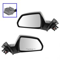 11-14 Cadillac CTS 2dr Power Heated Memory PTM Mirror PAIR