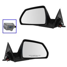 11-14 Cadillac CTS 2dr Power Heated PTM Mirror PAIR