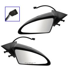 08-10 Pontiac G6 4dr Power Primered Gray Mirror PAIR
