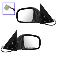 08-11 Subaru Impreza (exc. STI); 12-14 WRX Power Heated Textured Mirror PAIR