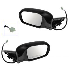08-11 Subaru Impreza (exc. STI); 12-14 WRX Power Textured Mirror PAIR