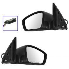 11-14 VW Jetta Sedan Power Heated Signal Primered Mirror PAIR