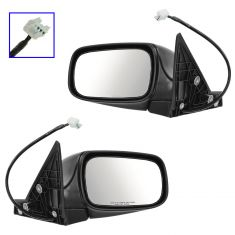 02-07 Subaru Impreza, Outback Power Textured Mirror PAIR