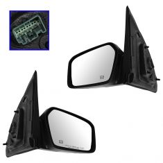 06 Lincoln Zephyr; 07-10 MKZ Power Heated Puddle Memory Mirror PAIR