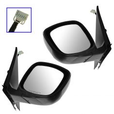 10-13 Infiniti G37 vert; 14 Q60 vert Power Heated Power Folding PTM Mirror PAIR