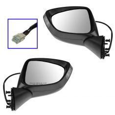 13-14 Mazda CX-5 Power Heated Signal PTM Mirror PAIR