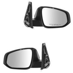 14-15 Toyota 4Runner Power, Heated, w/Puddle Light & Turn Signal PTM Mirror PAIR