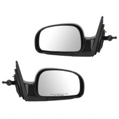 01-06 Hyundai Santa Fe Manual Remote Mirror PAIR