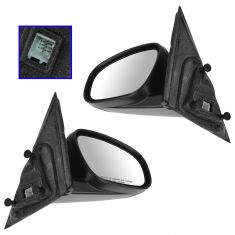 05-10 Chrysler 300; 05-08 Magnum Power Heat Fixed PTM Mirror PAIR