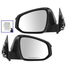 14-15 Toyota Highlander, Highlander Hybrid Power w/Turn Signal PTM Cap Mirror PAIR