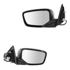 13-14 Honda Accord 4dr Power PTM Mirror PAIR