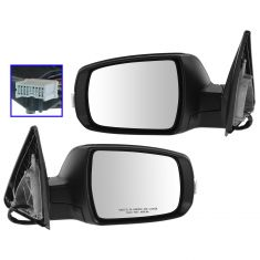 11-13 Sorento Power Heated Memory Signal Pwr Fold PTM Mirror PAIR