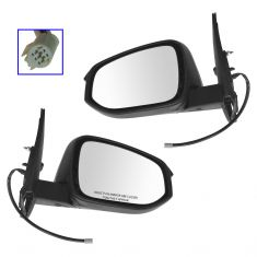 14-15 Toyota 4Runner Power, Heated PTM Mirror Pair