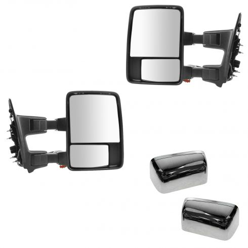 2010 Ford F250 Super Duty Truck Side View Mirror 2010