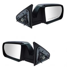 14-15 Toyota Sequoia Power Folding Heated w/Turn Signal Mirror w/Chrome Cap PAIR