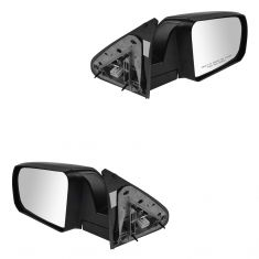 14-15 Toyota Tundra Power, Heated w/PTM Cap Mirror PAIR