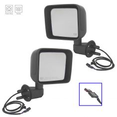 2015 Jeep Wrangler Power, Heated w/PTM Cap Mirror PAIR