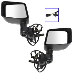 2015 Jeep Wrangler Power, Heated w/Textured Cap Mirror PAIR