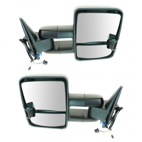 new style tow mirrors 2003 2006 chevy silverado 1500 power h 1a auto parts. Black Bedroom Furniture Sets. Home Design Ideas