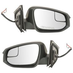 14 (from 11/14)-16 Toyota Rav4 Pwr, Htd, Turn Signal Mirror (w/Convex Spotter Glass) w/PTM Cap Pair